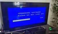 TCL电视MS801机芯升级后出现黑屏,倒屏等现象恢复方法教程